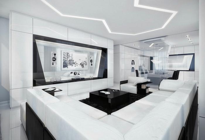 helle-wandfarben-schwarz-weiß-wohnzimmer-interessante-wohnraumfarben