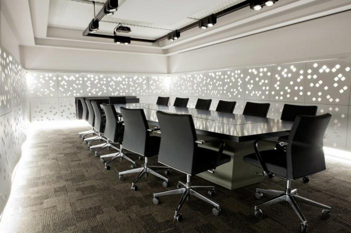 indirekte-beleuchtung-decke-böroraum-sehr-modern-gestalten