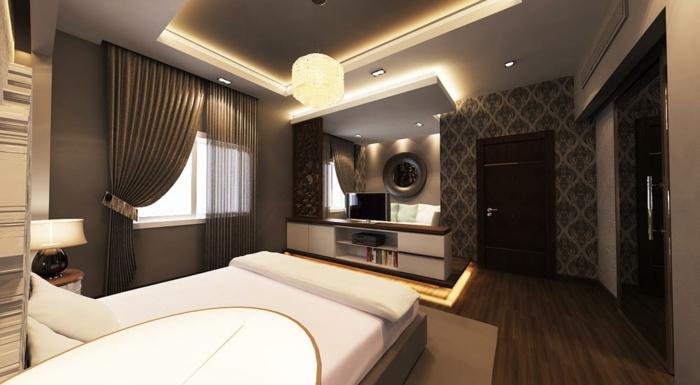 indirekte-beleuchtung-decke-selber-bauen-wunderschönes-schlafzimmer
