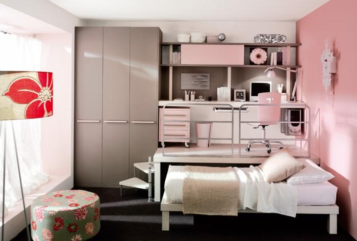 jugendzimmer-farben-latte-macchiato-moderne-wände-farbig-streichen
