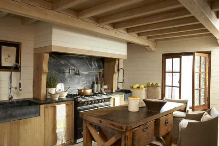 küche-landhausstil-Früchte-Möbel-rustikaler-Einrichtungsstil