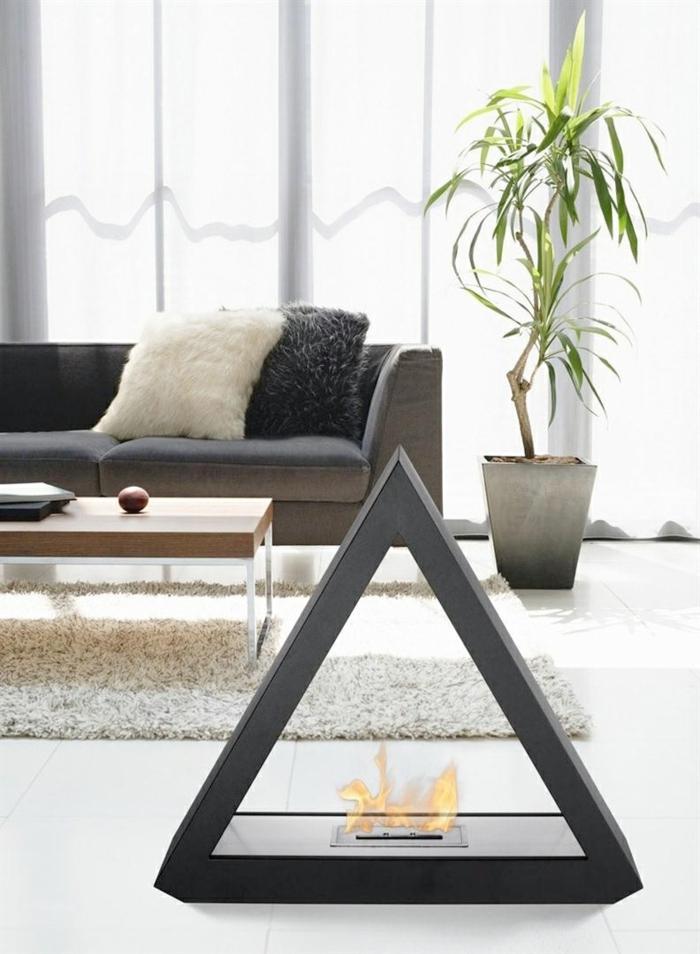 kamin-ohne-schornstein-weiße-gestaltung-modernes-sofa