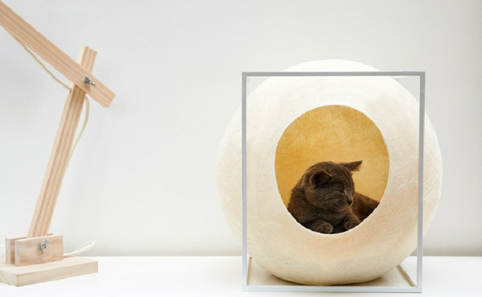 katzenzubeh r einige ideen f r cooles katzenbett. Black Bedroom Furniture Sets. Home Design Ideas