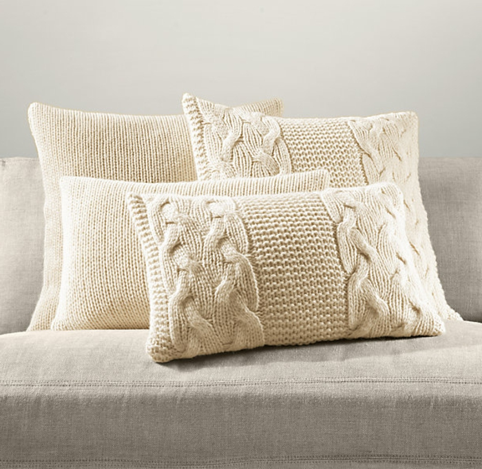 kissen-stricken-wunderschöne-weiße-modelle-sehr-schick