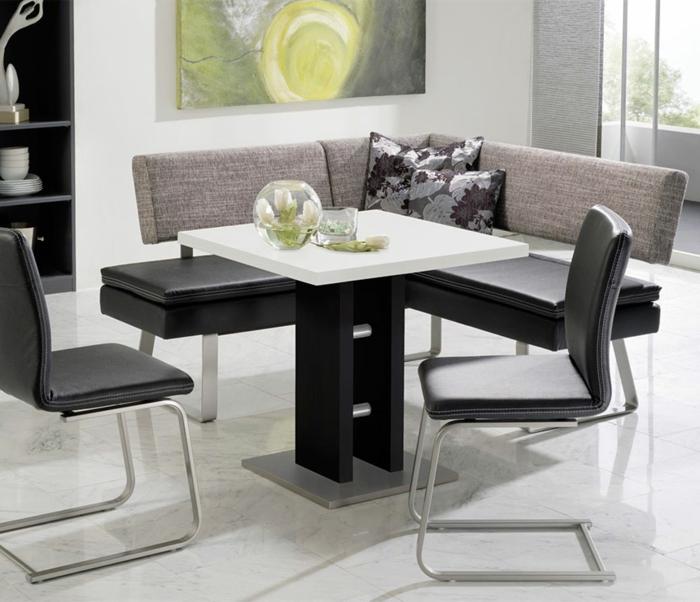 Weiße Stühle Esszimmer war genial ideen für ihr haus design ideen