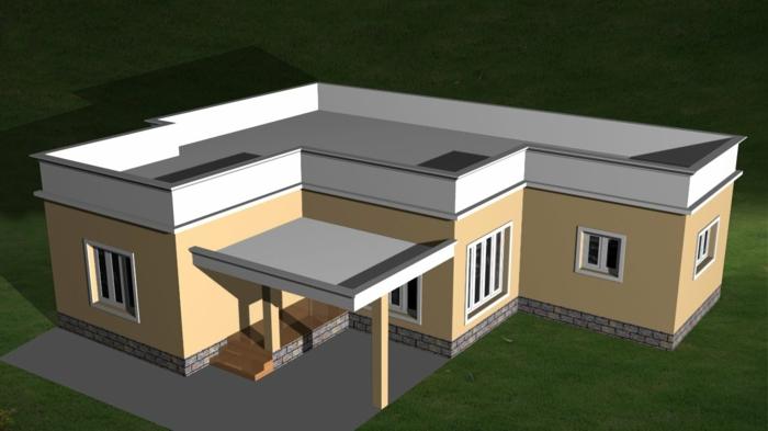 kleine-häuser-mit-flachdach-bauen-moderne-grundrisse
