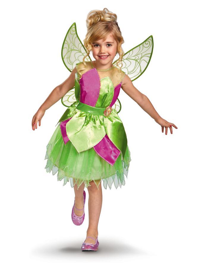 kleines-Mädchen-schönes-Feenkostüm-Flügel