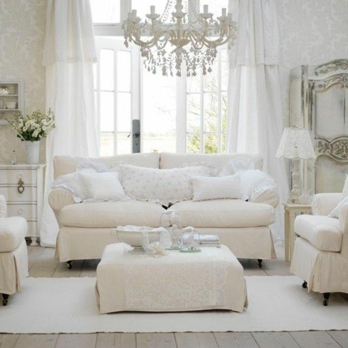 44 attraktive modelle kronleuchter in wei - Wohnzimmer kronleuchter ...