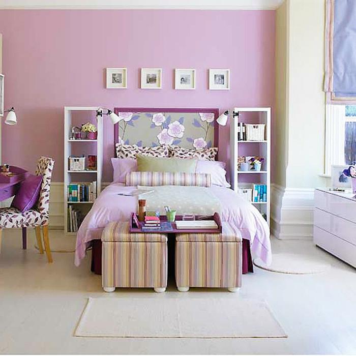 lavendel-wandfarbe-süßes-jugendzimmer-für-mächen-tolle-zimmerfarbe