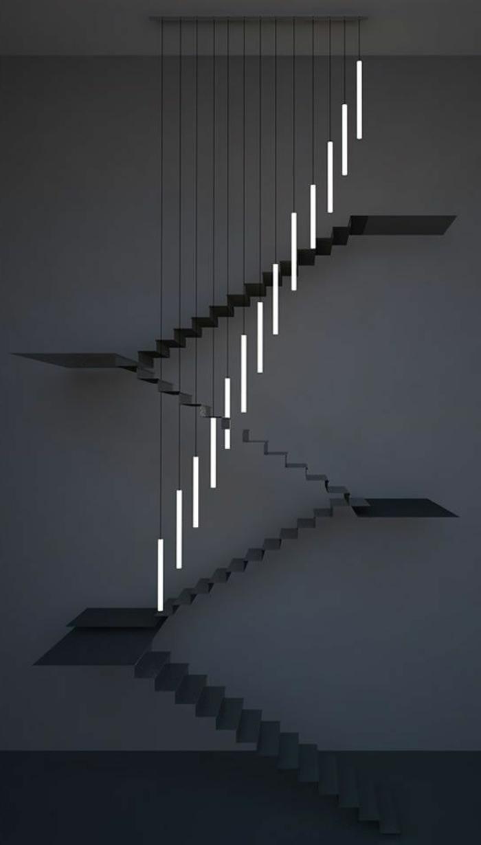 led-treppenbeleuchtung-attraktives-artistisches-foto