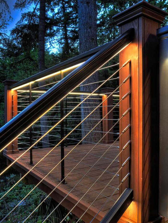 ideen treppenbeleuchtung aussen. Black Bedroom Furniture Sets. Home Design Ideas