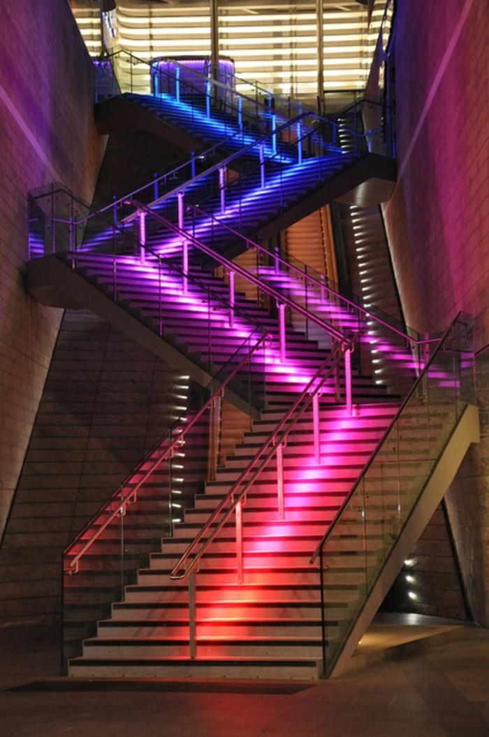 led-treppenbeleuchtung-extravagante-gestaltung