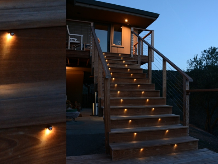 Moderne Treppenbeleuchtung: Led Wandeinbauleuchten Kaufen Bei ... Ideen Treppenbeleuchtung Aussen