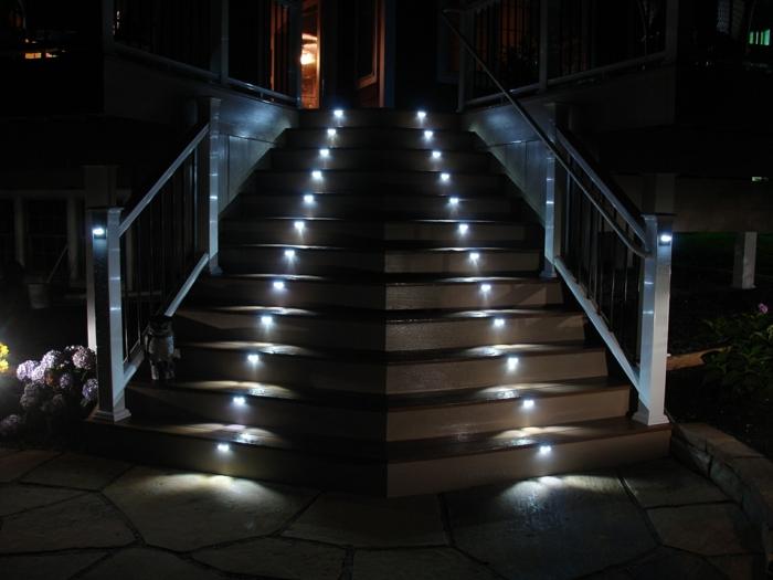 Sehr originelle ideen für led treppenbeleuchtung!   archzine.net