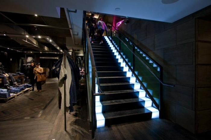 Design Treppe Beleuchtung