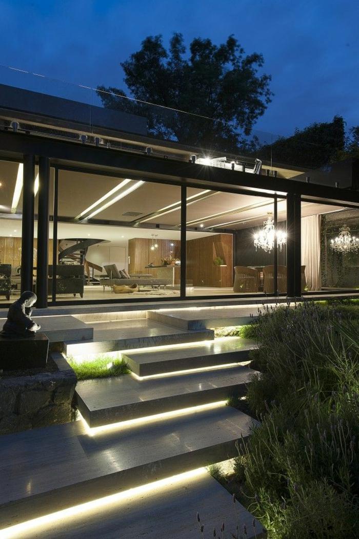 Design#5001409: Sehr originelle ideen für led treppenbeleuchtung! - archzine.net. Ideen Treppenbeleuchtung Aussen