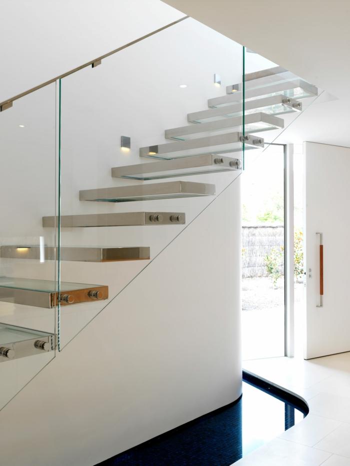 led-treppenbeleuchtung-unikale-weiße-gestaltung