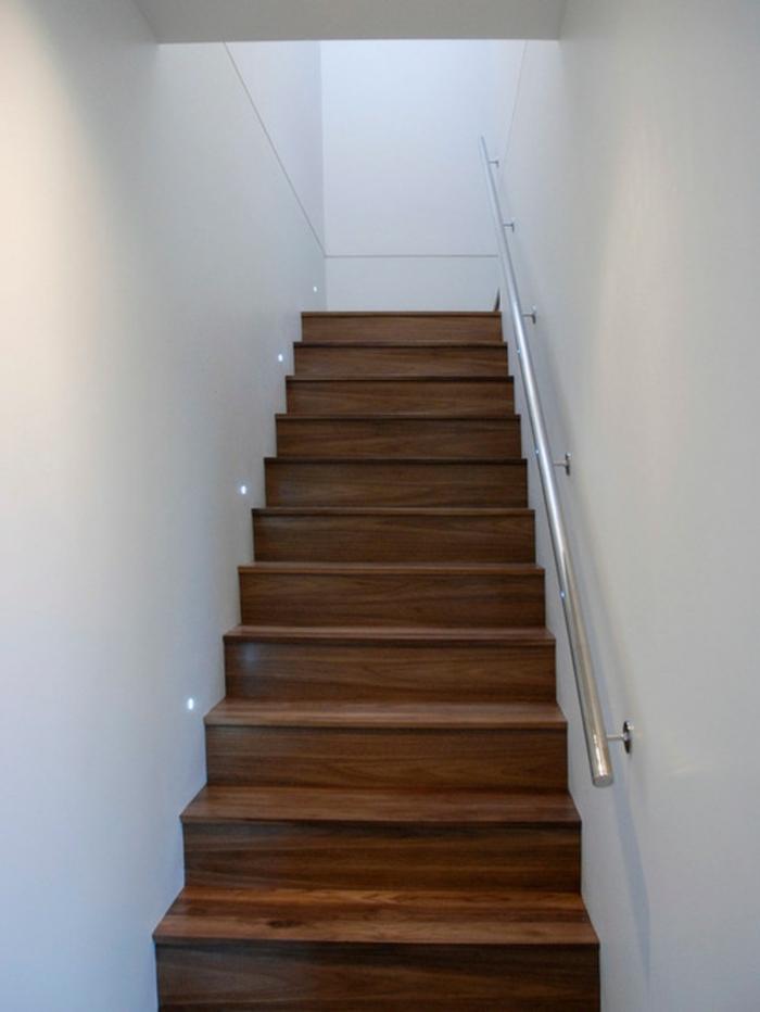Außen Idee Stahltreppe