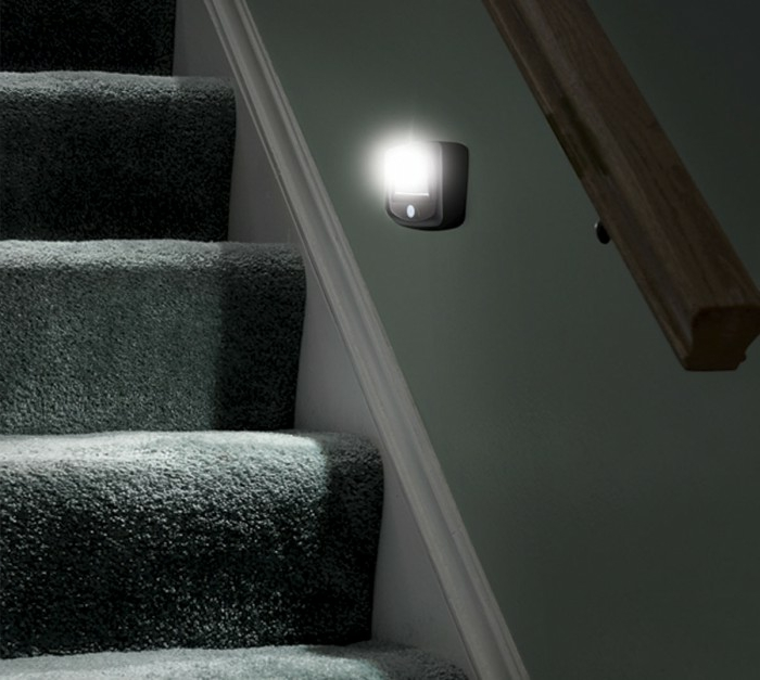 led-treppenbeleuchtung-wunderschöne-graue-gestaltung