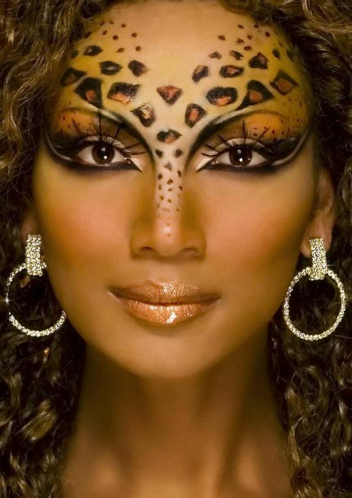 leopard-gesicht-schminken-einmaliger-look