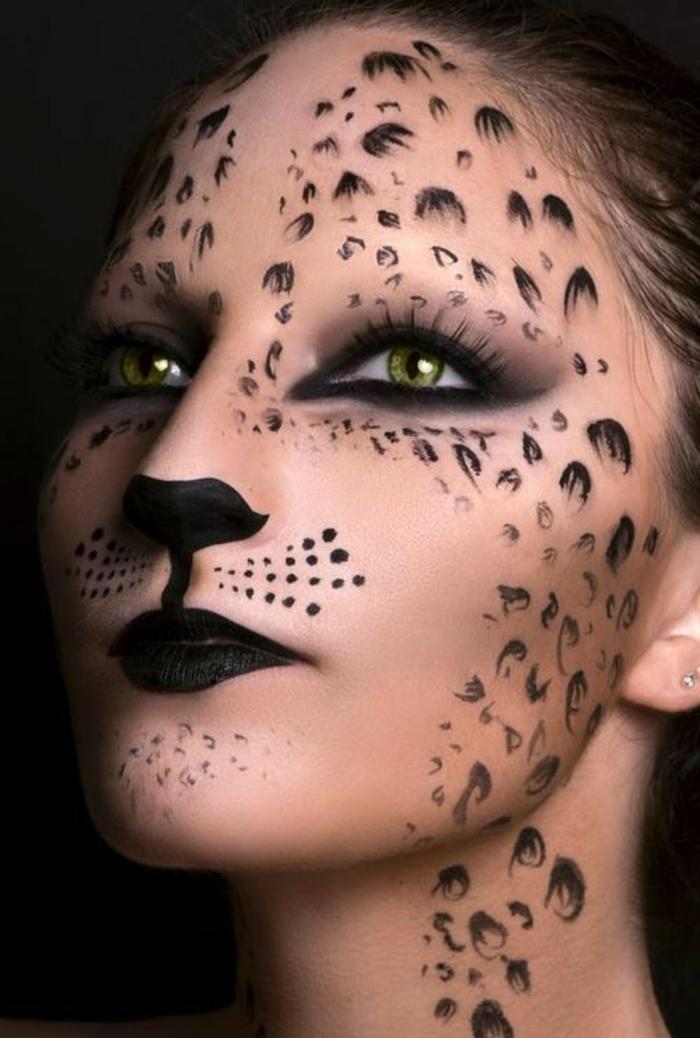 leopard-gesicht-schminken-kreative-gestaltung