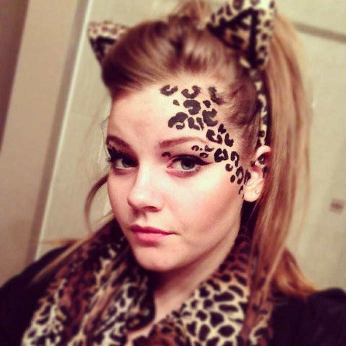 Leopard Gesicht Schminken 56 Tolle Ideen Archzine Net