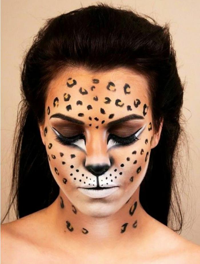 maske schminken