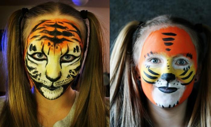 leopard-gesicht-schminken-zwei-kreative-beispiele
