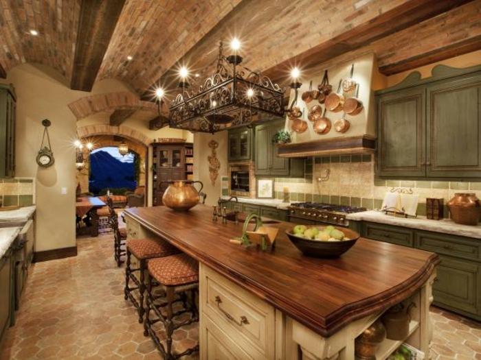 loft-einrichten-super-einrichtungsideen-küche