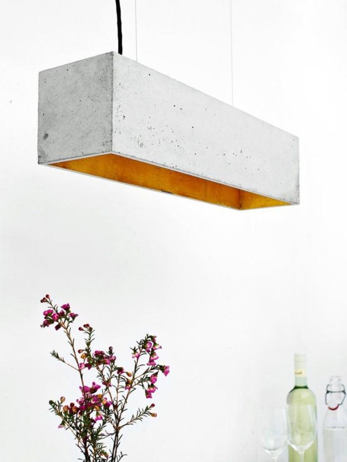 minimalistische-Einrichtung-hängende-Lampe-cooles-Design