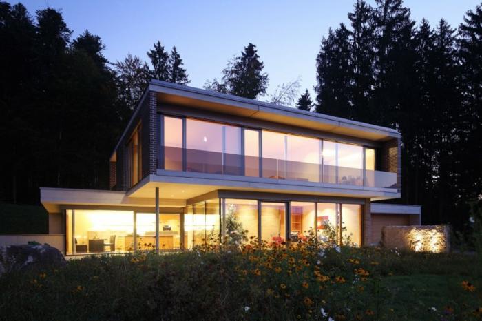 modellhaus-bauen-flachdach-design-idee-für-architekten