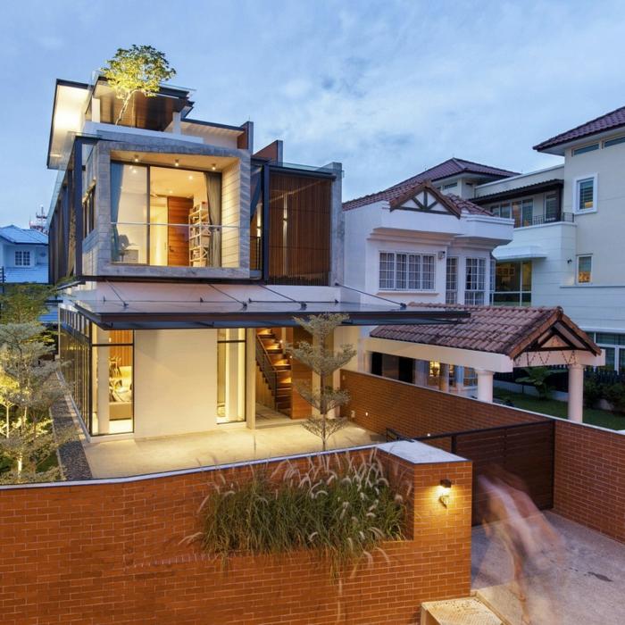 modellhaus-bauen-schöne-moderne-doppelhäuser