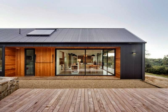 Flst Roof Glass House