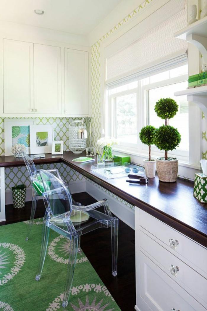 moderne-Küche-wunderschöne-grüne-Gestaltung-umweltfreundliches-Interieur-moderne-coole-Tapeten