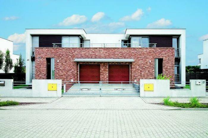 Moderne doppelhäuser satteldach  Moderne Häuser: mehr als 160 unikale Beispiele! - Archzine.net