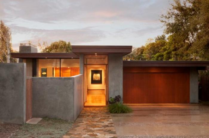 moderne-häuser-bilder-flachdach-schönes-design
