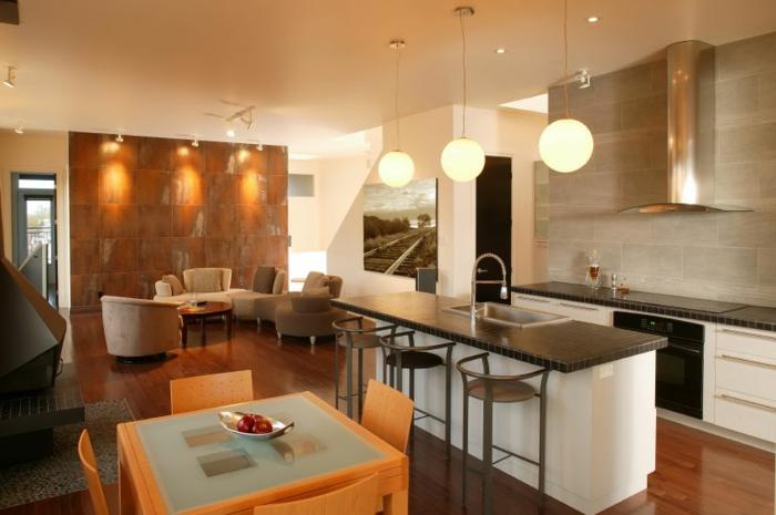 moderne-tolle-essgruppe-küche-und-esszimmer-gestalten