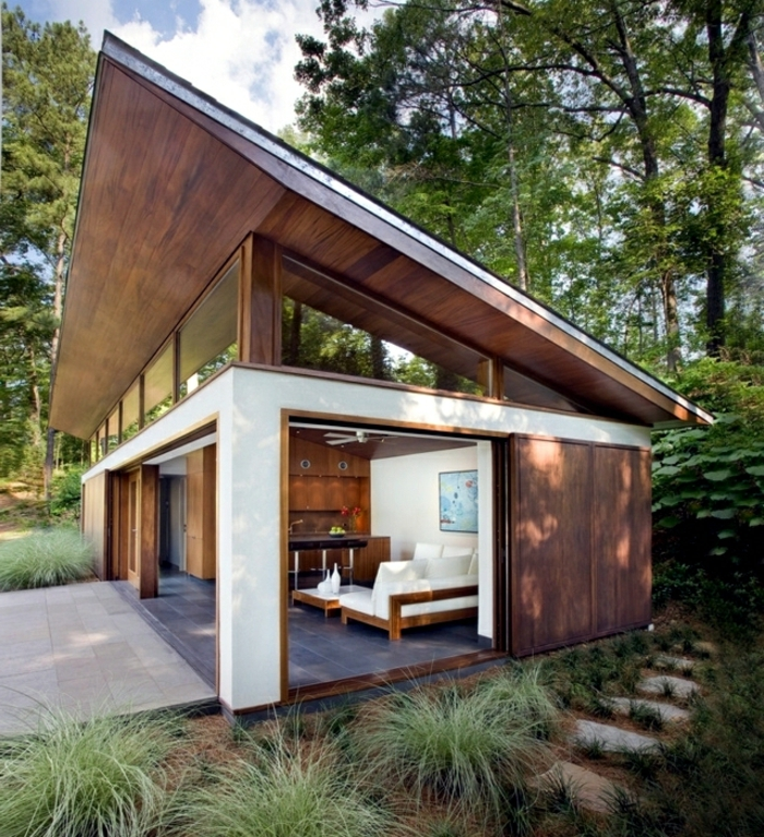 Modernes Bauen Designer Häuser Mit Satteldach