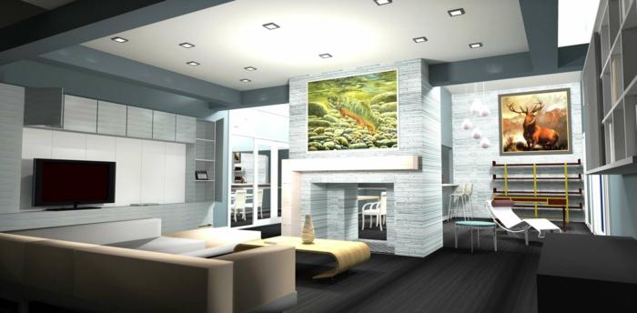 modernes-haus-bauen-innenarchitektur-schöne-designer-ideen