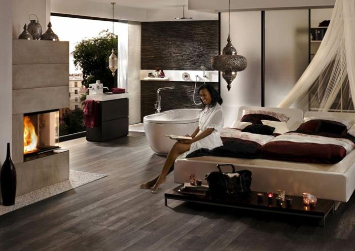 panorama-kamin-romantisches-ambiente-im-schlafzimmer