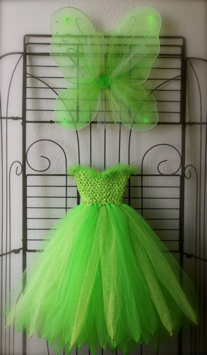 prinzessin-kostüm-damen-grün-Tüll-Fee