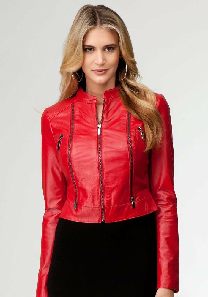 rote-lederjacke-junge-elegante-und-schicke-dame