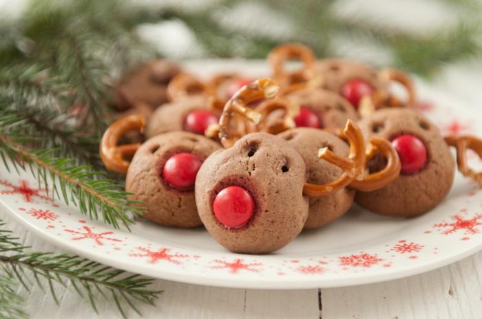 rudolf-weihnachts kekse-ideen