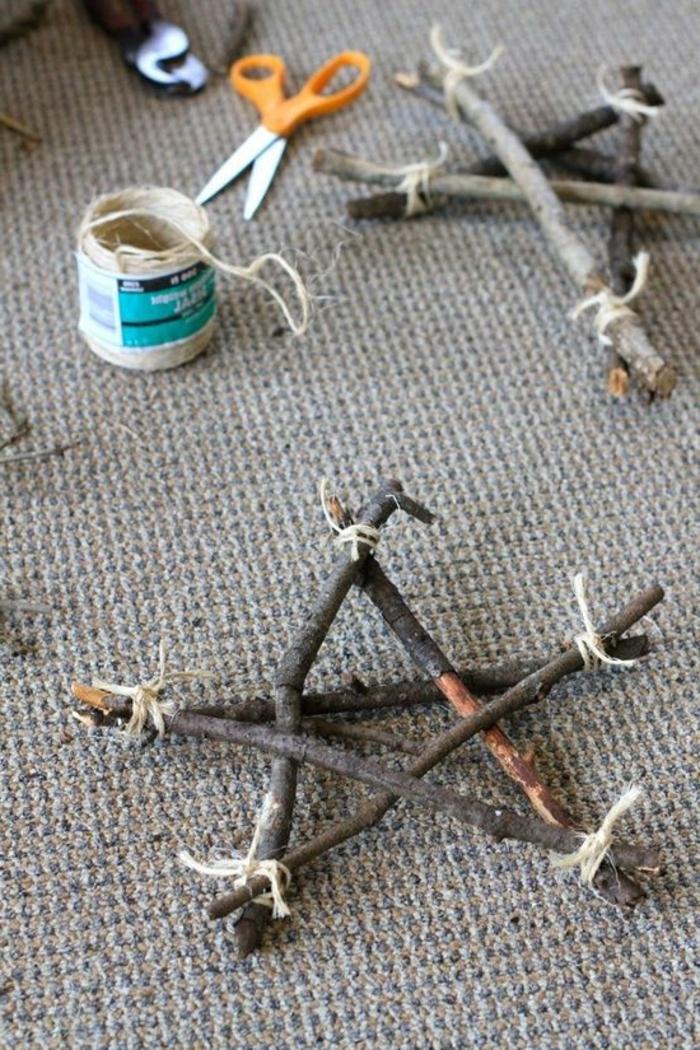 Diy Winter Decor Sticks