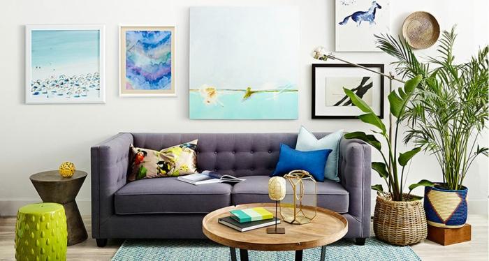 40 attraktive bilder f rs wohnzimmer for Leinwandbilder wohnzimmer