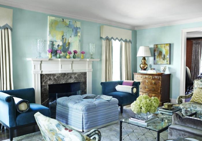 schöne-wandbilder-artistisches-Wohnzimmer-Interieur