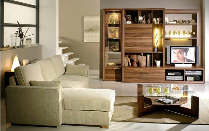 schöne-wohnzimmer-ideen-regalsystem-aus-holz