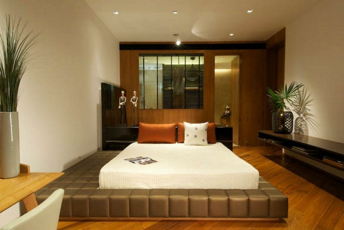 schlafzimmer-deko-ideen-attraktives-bett-modell