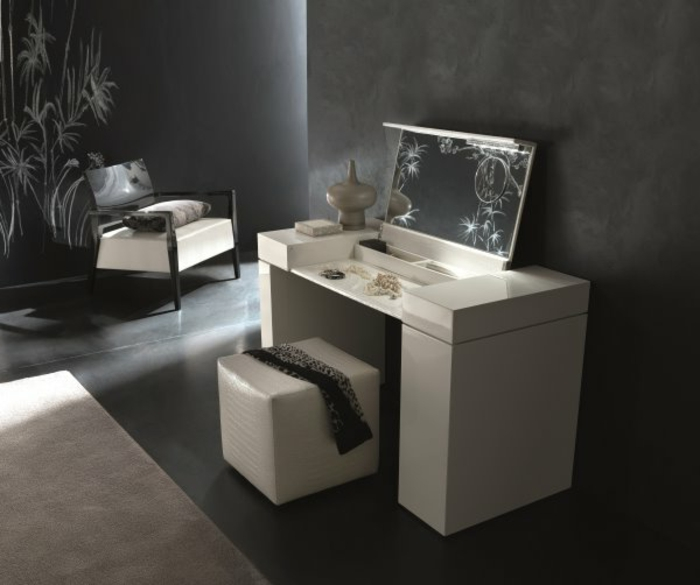 schminktisch mit spiegel designs haus design m bel ideen und innenarchitektur. Black Bedroom Furniture Sets. Home Design Ideas