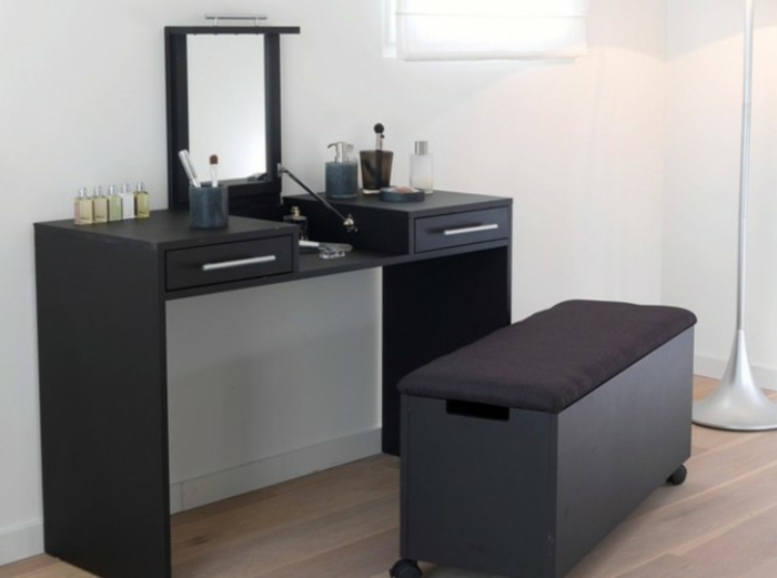 moderner schminktisch mit spiegel h bsche fotos. Black Bedroom Furniture Sets. Home Design Ideas